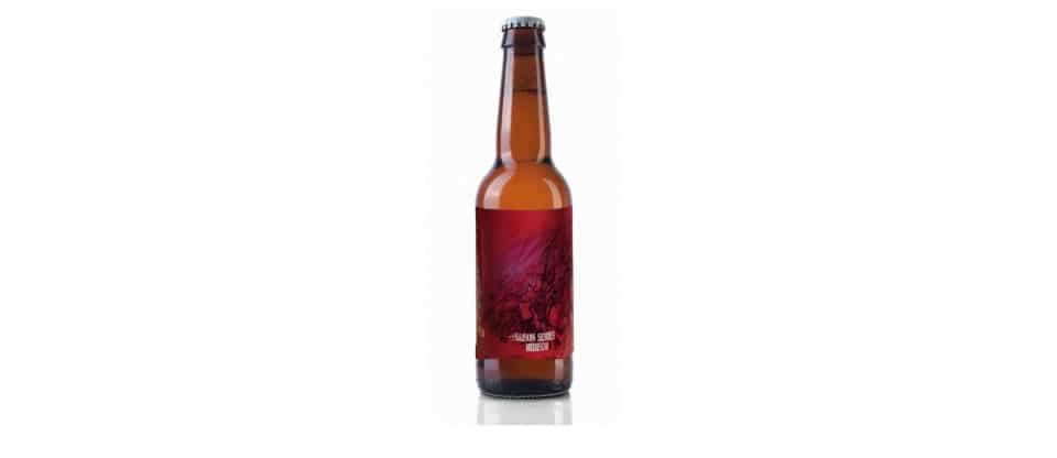 cerveza bailandera saison series hibisco