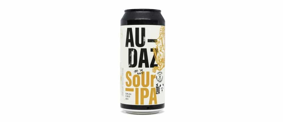 Lata de la cerveza Audaz de Cervezas Speranta y Panda Beer - Sour IPA - 44 cl