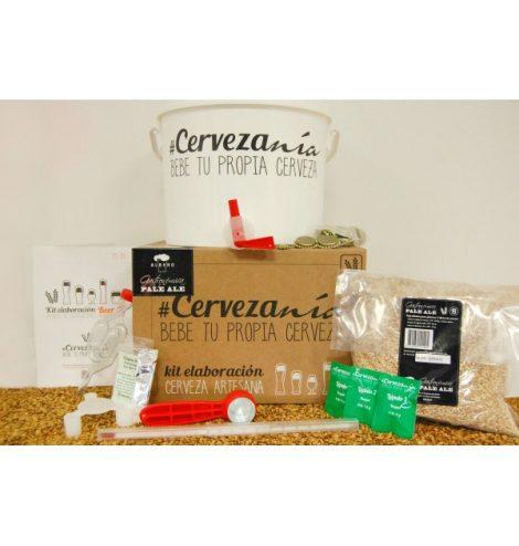 """Cervezanía - Kit de elaboración Albero Gastronómica """"Pale Ale"""""""