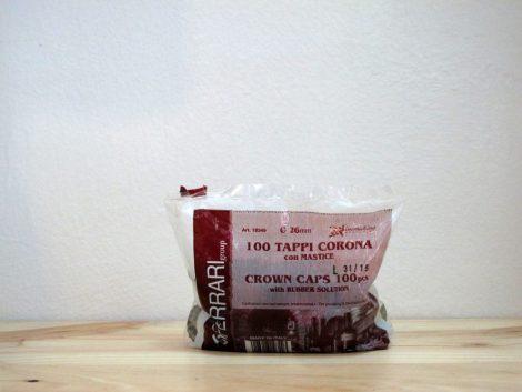 Bolsa de 100 chapas - 26 mm