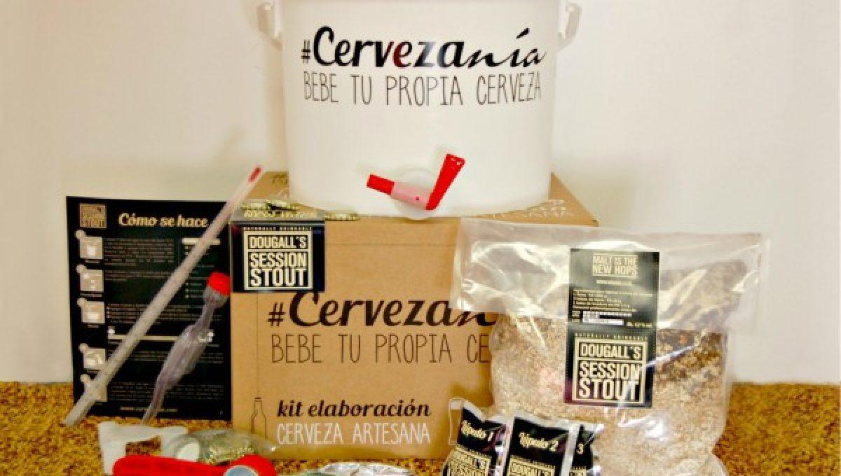 Cervezanía – Kit de elaboración DouGall's Session Stout