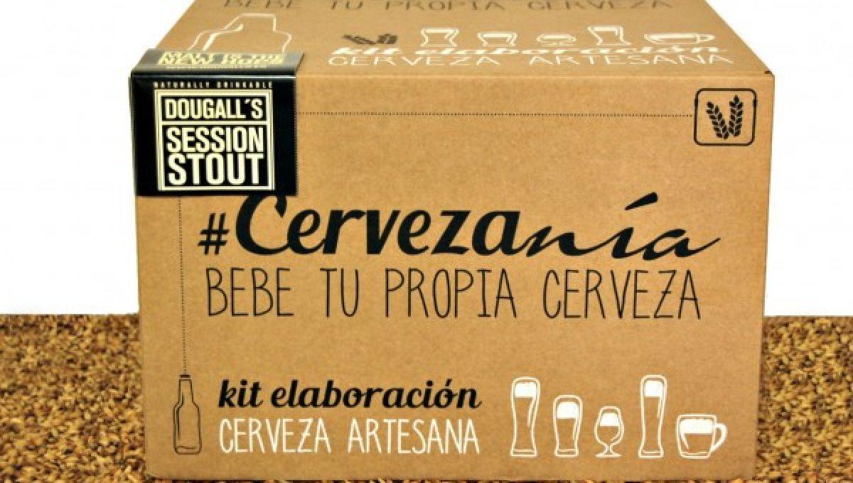 Cervezanía - Kit de elaboración DouGall's Session Stout