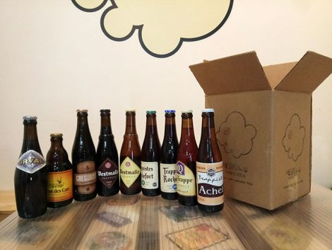 Pack de 9 cervezas trapenses